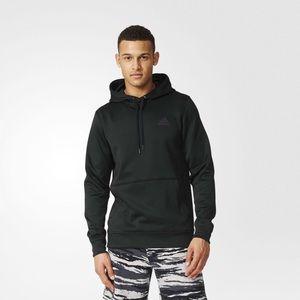 Adidas Team Issue Matte Black Pullover Hoodie